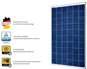 pin nang luong mat troi solar world 260wp | GPsolar