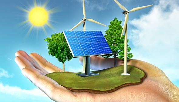 Năng lượng mặt trời hiện nay đang được chú trọng khai thác