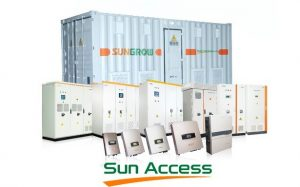 bien tan inverter sungrow | GPsolar