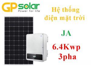 Hệ thống JA 6.4Kwp 3pha
