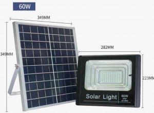 đèn năng lương mặt trời 60w
