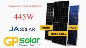 pin mặt trời ja solar 445w