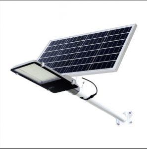 Đèn đường năng lượng mặt trời 200W 1 mắt lớn