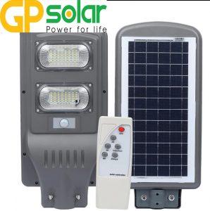 Đèn đường năng lượng mặt trời 60w 2 mắt lớn