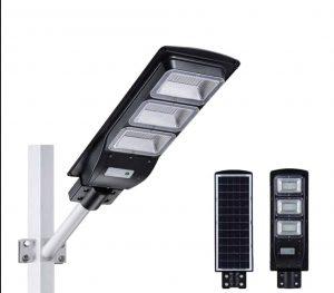 gpsolar cung cấp Đèn đường năng lượng mặt trời 90w 3 mắt lớn