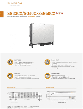 inverter sungrow 50kw 1 | GPsolar