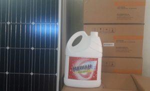 Nước rửa pin năng lượng mặt trời Hawah Clean