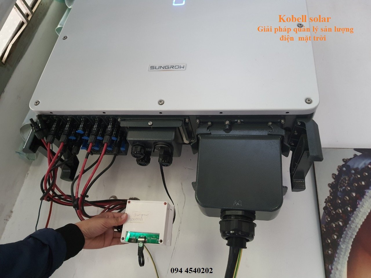 wifi phan mem quan ly theo doi dien mat troi inverter sungrow | GPsolar